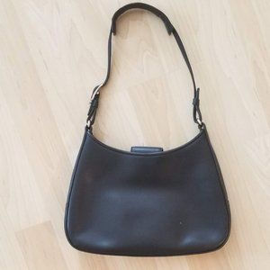 Vintage Coach leather purse - black